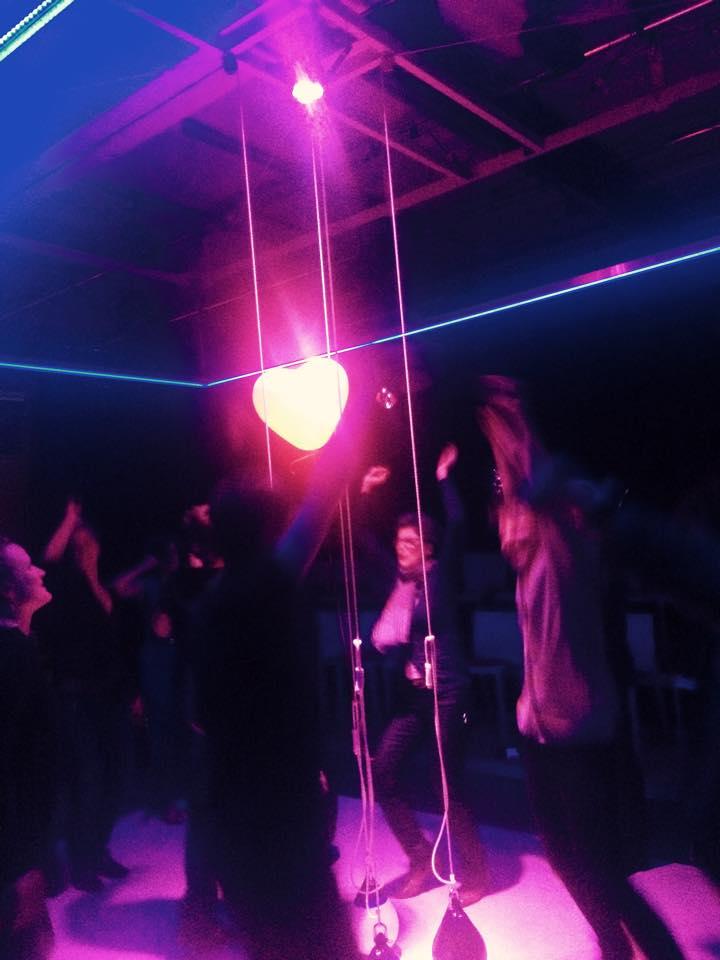 Premieren-Party mit Herz
